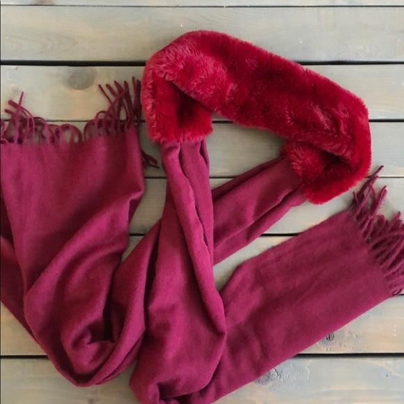 Fur hat/scarf